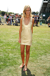 LADY VICTORIA HERVEY at the Cartier International Polo at Guards Polo Club, Windsor Great Park on 27th July 2008.<br /> <br /> NON EXCLUSIVE - WORLD RIGHTS