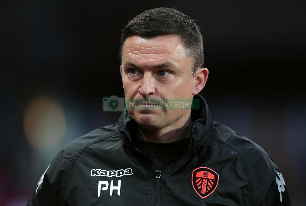 Leeds United manager Paul Heckingbottom