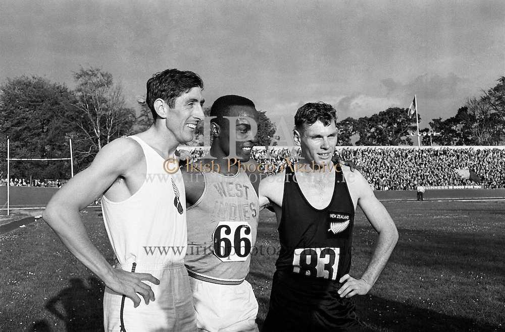 Athletics International at Santry<br /> 17.07.1961