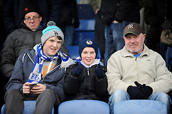 Bristol Rovers fans - Photo mandatory by-line: Neil Brookman/JMP - Mobile: 07966 386802 - 04/01/2015 - SPORT - football - Nuneaton - James Parnell Stadium - Nuneaton Town v Bristol Rovers - Vanarama Conference