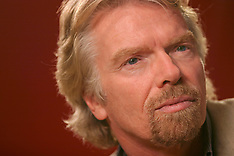 Richard Branson Portraits By Kim Kulish