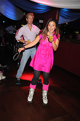 LADY NATASHA RUFUS-ISAACS at a Roller Disco in aid of TomÕs Ward at the ChildrenÕs Hospital in Oxford and the charity Place2Be, held at The Renaissance Rooms, London SW8 on the 17th September 2008.<br /> LADY NATASHA RUFUS-ISAACS at a Roller Disco in aid of Tom's Ward at the Children's Hospital in Oxford and the charity Place2Be, held at The Renaissance Rooms, London SW8 on the 17th September 2008.