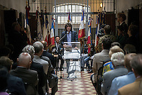 Arnaud Klarsfeld. The last convoy of 11 August 1944', 70th commemoration of the last deportees of the jail of Montluc.