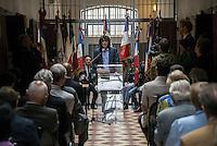 Arnaud Klarsfeld. The last convoy of 11 August 1944', 70th commemoration of the last deportees of the jail of Montluc.