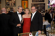 SIR STUART ROSE, LORRAINE AND MICHAEL SPENCER, The Summer Ball. Royal Academy. Picadilly. London. 16 June 2008. *** Local Caption *** -DO NOT ARCHIVE-© Copyright Photograph by Dafydd Jones. 248 Clapham Rd. London SW9 0PZ. Tel 0207 820 0771. www.dafjones.com.