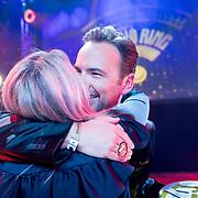 NLD/Hilversum/20180125 - Gouden RadioRing Gala 2017, Gerard Ekdom en partner Nicole Smits