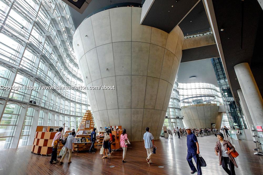 Interior of National Art Center Tokyo