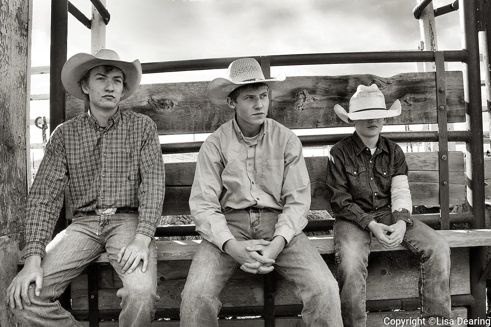 Boys at Rodeo, Montana