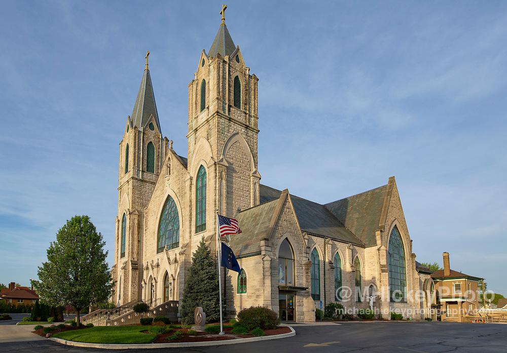 St Patrick's Catholic Church - Kokomo, Indiana
