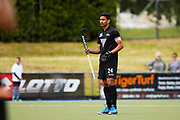 Arun Panchia of the Black Sticks at the final game of the Black Sticks v Canada Test Matches 21 October 2018. Copyright photo: Alisha Lovrich / www.photosport.nz
