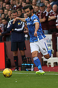 Simon Lappin during the Ladbrokes Scottish Premiership match between Heart of Midlothian and St Johnstone at Tynecastle Stadium, Gorgie, Scotland on 2 August 2015. Photo by Craig McAllister.
