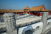 Gugong (Forbidden City, Imperial Palace). Gate next to Baohe Dian (Hall of Preserving Harmony) from where the picture was taken.