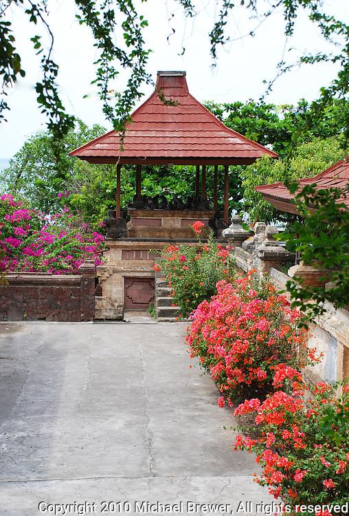 The beautiful monkey temple at Polaki, Bali, Indonesia.