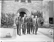 12/06/1957.06/12/1957.12 June 1957.Methodist Church Conference at St Stephens Green, Dublin.