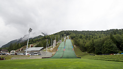 The hills during ski jumping training in Nordic Center Planica, on June 29, 2017 in Planica, Slovenia. Photo by Matic Klansek Velej / Sportida