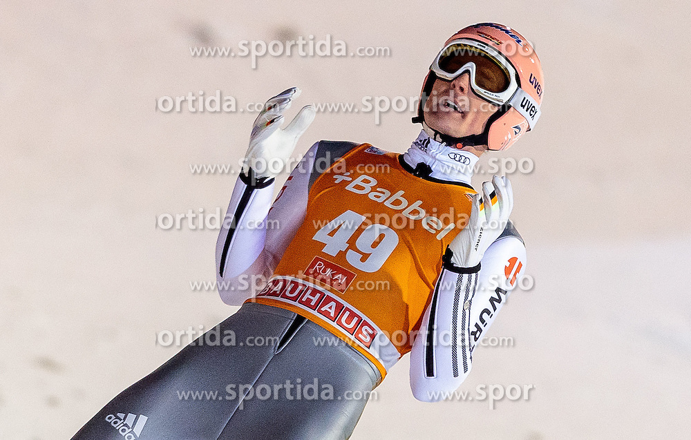 25.11.2016, Nordic Arena, Ruka, FIN, FIS Weltcup Ski Sprung, Nordic Opening, Kuusamo, Herren, im Bild Severin Freund (GER) // Severin Freund of Germany during the Mens FIS Skijumping World Cup of the Nordic Opening at the Nordic Arena in Ruka, Finland on 2016/11/25. EXPA Pictures © 2016, PhotoCredit: EXPA/ JFK