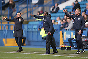 Queens Park Rangers Manager Jimmy Floyd Hasselbaink  during the EFL Sky Bet Championship match between Sheffield Wednesday and Queens Park Rangers at Hillsborough, Sheffield, England on 22 October 2016. Photo by Simon Davies.