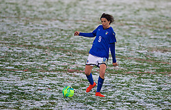 CESENA, ITALY - Tuesday, January 22, 2019: Italy's Daniela Sabatino during the International Friendly between Italy and Wales at the Stadio Dino Manuzzi. (Pic by David Rawcliffe/Propaganda)