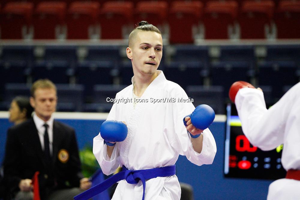 Brandon VITAL - 24.01.2015 - Open de Paris - Karate Premier League -<br />Photo : Johnny Fidelin / Icon Sport