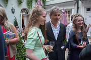 FREYA WOOD; HUGO DE FERRANTI; POSY WOOD; , Elliott and Thompson host a book launch of How the Queen can Make you Happy by Mary Killen.- Book launch. The O' Shea Gallery. St. James's St. London. 20 June 2012.