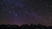 The Milky Way over the Tetons, Grand Teton National Park, Wyoming USA