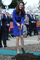 The Duchess of Cambridge visits and formally open The Treehouse, a hospice run by EACH in Ipswich, Suffolk, UK, on the 19th March 2012<br /> PICTURE BY JAMES WHATLING