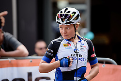 Emilie Moberg (Hitec Products) at the 116 km Stage 5 of the Boels Ladies Tour 2016 on 3rd September 2016 in Tiel, Netherlands. (Photo by Sean Robinson/Velofocus).