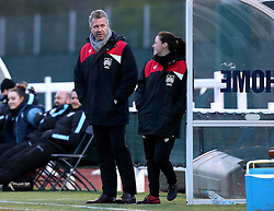 Willie Kirk manager of Bristol City Women - Mandatory by-line: Robbie Stephenson/JMP - 02/01/2012 - FOOTBALL - Stoke Gifford Stadium - Bristol, England - Bristol City Women v Aston Villa Ladies - FA Women's Super League 2