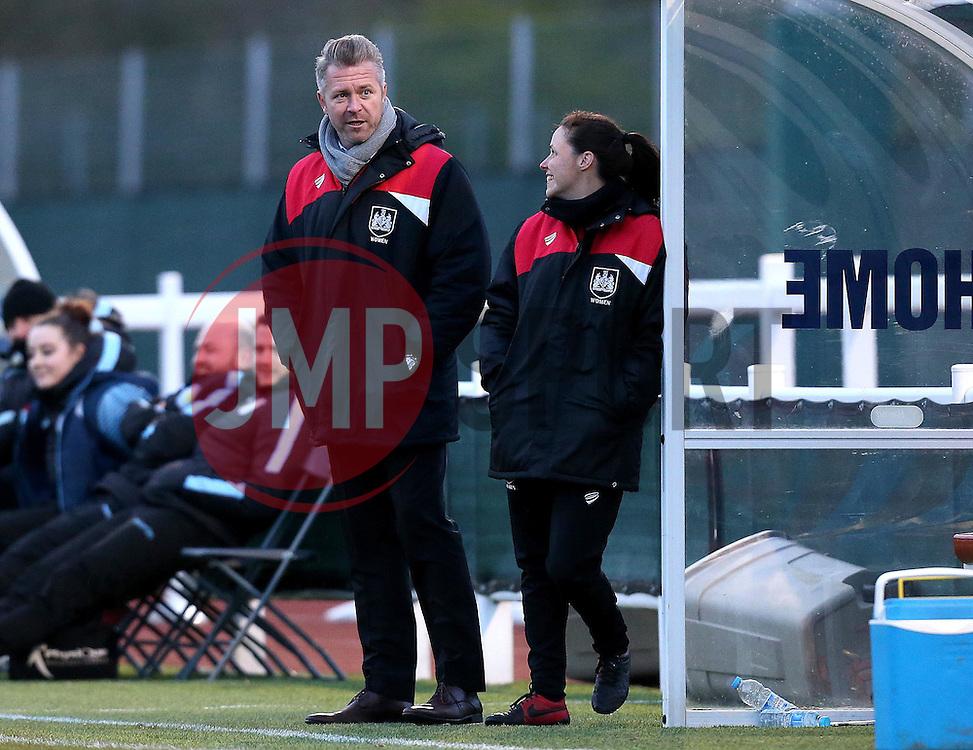 Willie Kirk manager of Bristol City Women - Mandatory by-line: Robbie Stephenson/JMP - 02/01/2012 - FOOTBALL - Stoke Gifford Stadium - Bristol, England - Bristol City Women v Aston Villa Ladies - FA Women's Super League 2