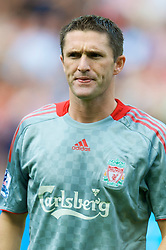 SUNDERLAND, ENGLAND - Saturday, August 16, 2008: Liverpool's Robbie Keane before the opening Premiership match of the season against Sunderland at the Stadium of Light. (Photo by David Rawcliffe/Propaganda)
