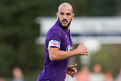 Riccardo Saponara of ACF Fiorentina during the Pre-season Friendly match between Heracles Almelo and Fiorentina at Sportpark Wiesel  on August 01, 2018 in Wenum-Wiesel , The Netherlands