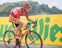06.07.2017, Kitzbühel, AUT, Ö-Tour, Österreich Radrundfahrt 2017, 4. Etappe von Salzburg auf das Kitzbüheler Horn (82,7 km/BAK), im Bild Felix Grossschartner (AUT, Team CCC Sprandi Polkowice) // Felix Grossschartner of Austria (CCC Sprandi Polkowice) during the 4th stage from Salzburg to the Kitzbueheler Horn (82,7 km/BAK) of 2017 Tour of Austria. Kitzbühel, Austria on 2017/07/06. EXPA Pictures © 2017, PhotoCredit: EXPA/ Reinhard Eisenbauer