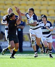 Wellington-Rugby, Auckland v Wellington, women, September 29
