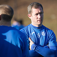 St Johnstone Training....05.02.15<br /> Frazer Wright pictured training at McDiarmid Park this morning ahead of Saturday's Scottish Cup tie at Queen of the South.<br /> Picture by Graeme Hart.<br /> Copyright Perthshire Picture Agency<br /> Tel: 01738 623350  Mobile: 07990 594431