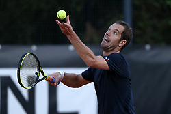 May 14, 2018 - Rome, Italy - Tennis ATP Internazionali d'Italia BNL First Round.Richard Gasquet (FRA) at Foro Italico in Rome, Italy on May 14, 2018. (Credit Image: © Matteo Ciambelli/NurPhoto via ZUMA Press)