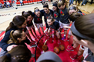 Women's Basketball Senior Day 2018