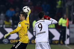 January 20, 2017 - Freiburg, Germany - Lewandowski Robert 9 during the German first division Bundesliga football match SC Freiburg vs FC Bayern Munich in Freiburg, Germany, on January 20, 2017. (Credit Image: © Elyxandro Cegarra/NurPhoto via ZUMA Press)