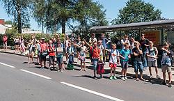 05.07.2017, Altheim, AUT, Ö-Tour, Österreich Radrundfahrt 2017, 3. Etappe von Wieselburg nach Altheim (226,2km), im Bild Fans // Fans during the 3rd stage from Wieselburg to Altheim (199,6km) of 2017 Tour of Austria. Altheim, Austria on 2017/07/05. EXPA Pictures © 2017, PhotoCredit: EXPA/ JFK