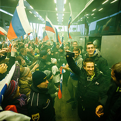 20170129: CRO, Handball - Reception of Slovenian Handball Team in Zagreb Airport