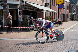 Coralie Demay at Boels Rental Ladies Tour Prologue a 4.3 km individual time trial in Wageningen, Netherlands on August 29, 2017. (Photo by Sean Robinson/Velofocus)