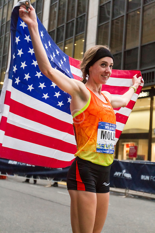 winner Molly Huddle, USA,