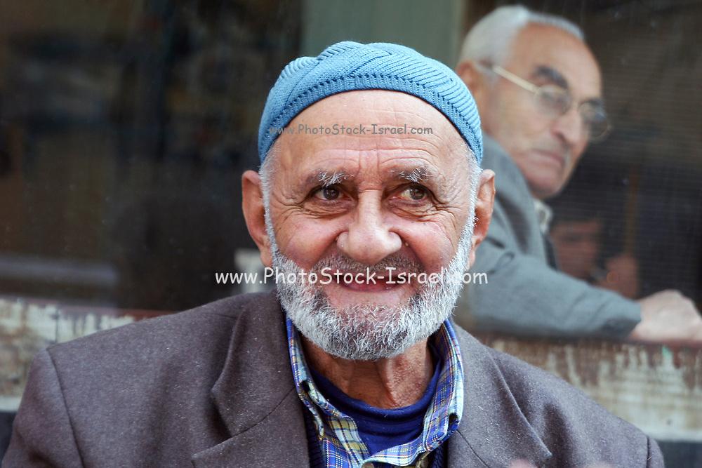 Turkish man in a street in Istanbul, Turkey