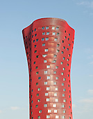 Porta Fira Hotel and Office building  in Barcelona, Spain by Toyo Ito ¬ B720 Fermín Vázquez Arquitec