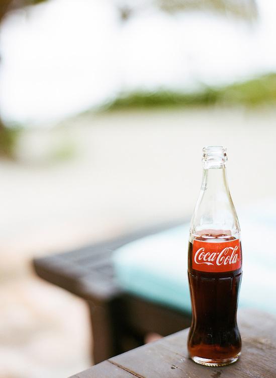 el pescador, eco lodge, belize, central america, coca cola
