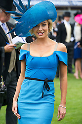Katherine Jenkins at Epsom Derby , on Saturday 2nd June 2012 Photo by i-Images.