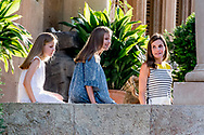 31-7-2017 PALMA DE MALLORCA - King Felipe, Queen Letizia, Princess Leonor, Princess Sofia pose during the holiday Photosession King Felipe, Queen Letizia, Princess Leonor, Princess Sofia pose during the Photosession for the media at the Marivent Palace during the holiday in Palma de Mallorca <br />  Palma de Mallorca, Mallorca island, Balearic Islands, Spain, 31 July 2017 COPYRIGHT ROBIN UTRECHT <br /> <br /> 31-7-2017 PALMA DE MALLORCA - King Felipe, Queen Letizia, Princess Leonor, Princess Sofia pose during the holiday Photosession King Felipe, Queen Letizia, Princess Leonor, Princess Sofia pose during the photo session for the media at the Marivent Palace during the holiday In Palma de Mallorca<br /> &nbsp; Palma de Mallorca, Mallorca island, Balearic Islands, Spain, 31 July 2017 COPYRIGHT ROBIN UTRECHT