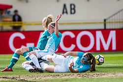 Lana Golob of Slovenia during football match between Slovenia and Germany in Womans Qualifications for World Championship 2019, on April 10, 2018 in Sports park Domzale, Domzale, Slovenia. Photo by Ziga Zupan / Sportida