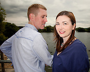 Helen & Glen's Pre-Wedding Photograph at Attenborough Nature Reserve, Nottingham.