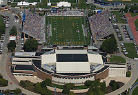 Aerial views Blue Hen Stadium and Bob Carpenter Center, Newark, Delaware