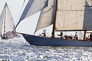 Adventuress, William Fife, at the Best Life Museum of Yachting Classic Yacht Regatta